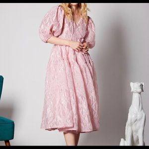 Sister Jane Ballroom Midi Wrap Dress